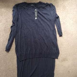 Glassons Hi Lo Sweater Top Size S