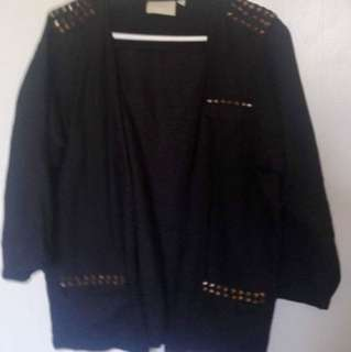 Wildpair Gold Studded Jacket