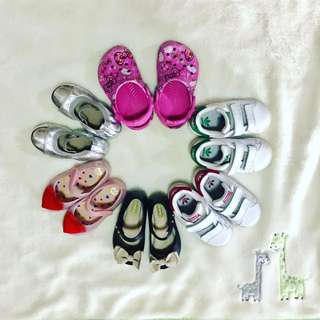 Stan Smith, Crocs, Mini Melissa, Place