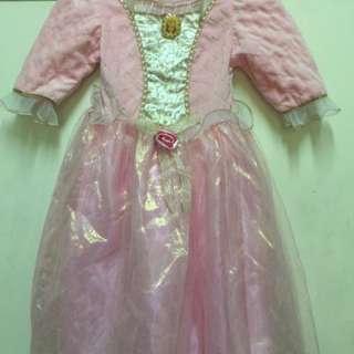 Barbie Princess Gown Size 4-6x