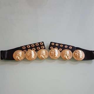 Gold 3d Belt
