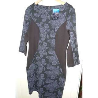 Cue in the City dress Brand new with tags on, size 12