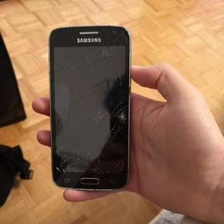Black Samsung Galaxy Core