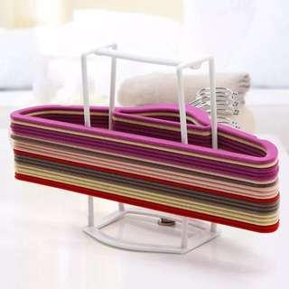 超好用衣架收納架 不會卡在一起 方便整理不佔空間 隨身攜帶可提到洗衣間