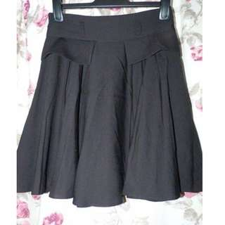 Cue black swing skirt size 10 excellent
