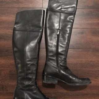 Via Spiga Over The Knee Boots 7 1/2