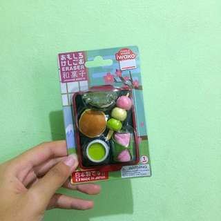 Japanese Sweets Erasers