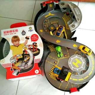 Car Park Toys Set