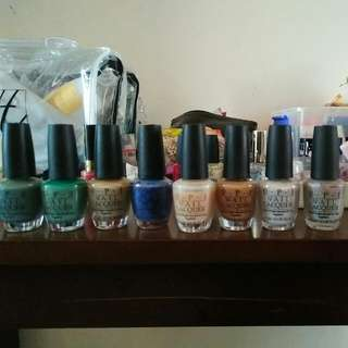 8 OPI Polish Authentic