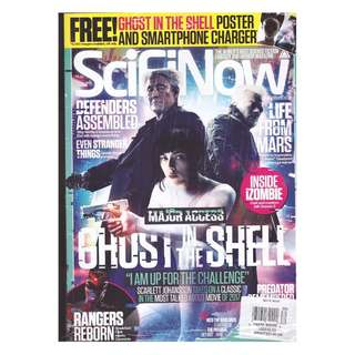 Ghost in a shell Movie Magazine 2017 pdf