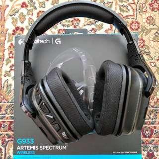 Logitech G933 Artemis Spectrum Wireless Gaming 7.1 Headset