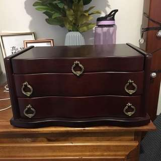 Jewellery Box - Includes All Jewellery Inside