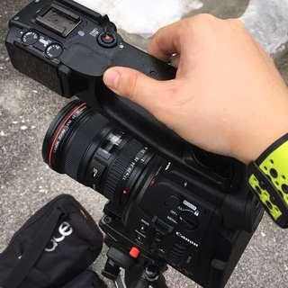 Dual Pixel AF CMOS Canon C100 Plus MORE