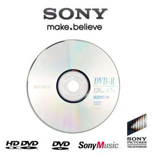 Sony DVD-R 120min / 4.7GB AccuCORE (Blue/Silver back)