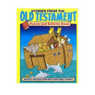 Stories from the Old Testament Puzzle and Activity Book
