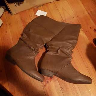 Brown Boots 7