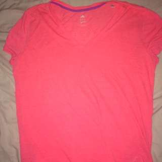 Adidas Neon Athletic Shirt