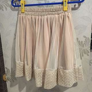 Rok Nude lacey