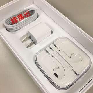 ✨全新正貨 iPhone 6s 配件 耳機 lightning線 充電線 充電頭