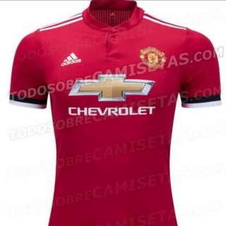 100% Authentic!! MAN U HOME 2018 JERSEY!!