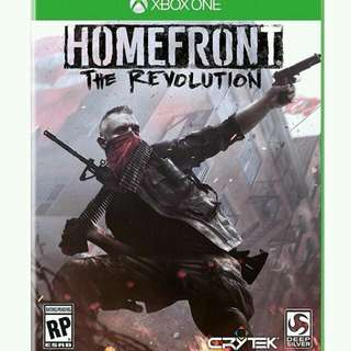 Homefront the revolution for xbox one