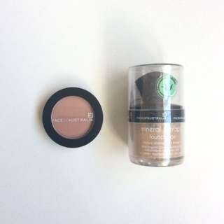 BRAND NEW Face Of Australia Blush And Mineral Foundation
