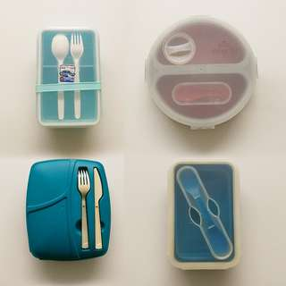 Lunch Boxes Set of 4