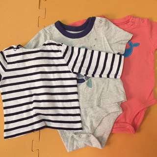 Assorted Baby Tops