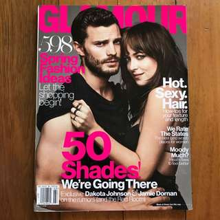 GLAMOUR Magazine: 50 Shades! We're Going There