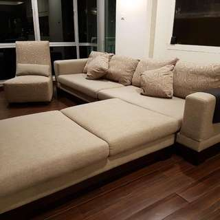 Sofa Set (Comfortable for 7-9 Pax)