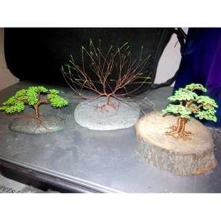 Miniature Bonsai Copper Tree