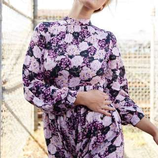 Dress With Flowers - M