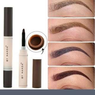 Eyebrow Cream Pencil Brush