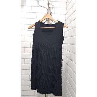 REPRICED Gatsby style black dress