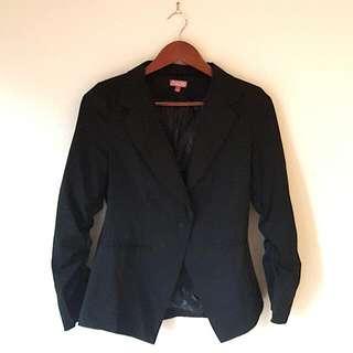 Black Blazer Size S