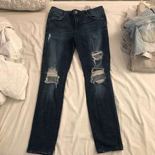 Zara Power stretch Jeans