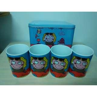 陶瓷杯套裝(1盒4隻) Ceramic Cup (Box set, 4 cups)【Home Collection】