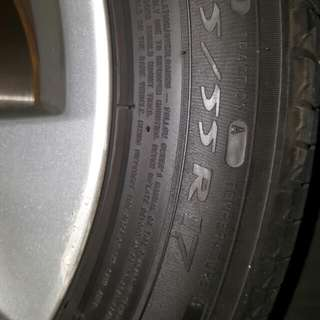 Used 4 Tyres
