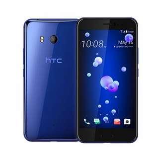 HTC U11(6G/128G) 寶石藍 全新未拆