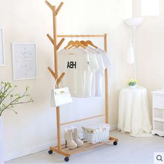 Simple and Neat Tree Clothing Hanger