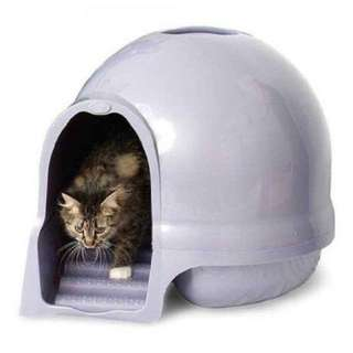 Dome Litter Box For Cats