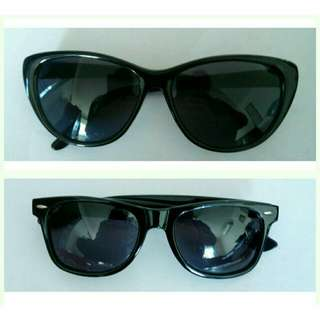 Cat Eye / Marilyn Monroe & Wayfarer Sunglasses