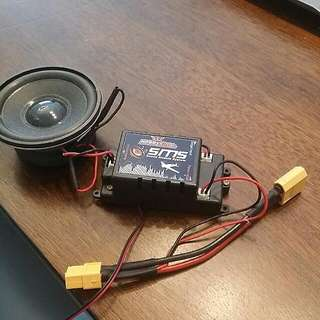 Sound Module For FIXED WING RC aircraft