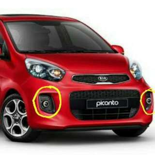 Kia Picanto 2016 up OEM Projector Type Fog Lamps