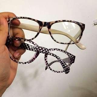 Retro-Style Clear Eyeglasses