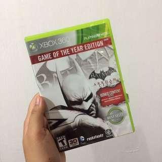BATMAN: Arkham City Video Game