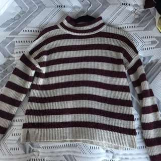 Sportsgirl Stripy Wool Jumper