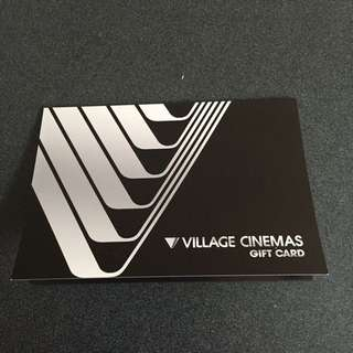 $50 Village Cinemas Giftcard
