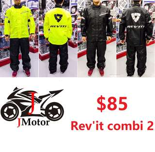 NEW Combi 2 Rev' It Rain Coat Set OGK NEWEST VERSION Rain Coat raincoat