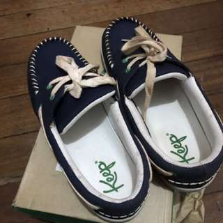 Navy Keep Shoes